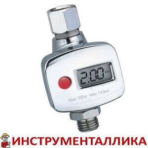 Регулятор давления воздуха цифровой для краскопульта FR7 Italco