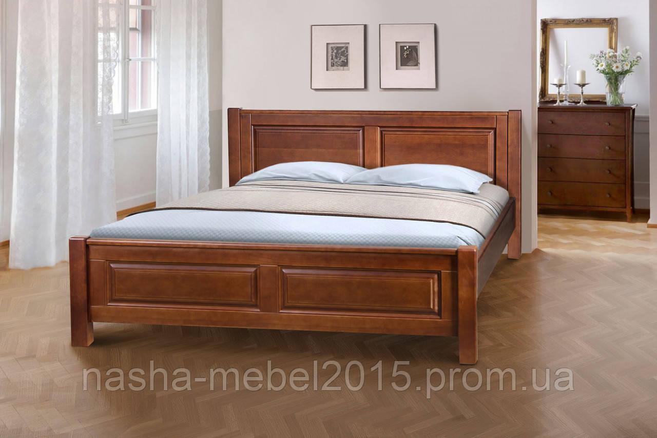 Кровать Ланита 1,8м ольха орех