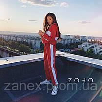Идеальный осенний костюм Zanex, красный, фото 2