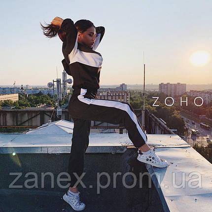 Идеальный осенний костюм Zanex, черный, фото 2