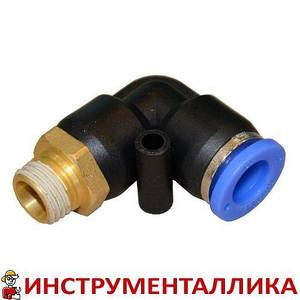 Соединитель быстроразьемный наружная резьба 1/2 - пластиковый шланг 10 мм SPL10-04 Airkraft