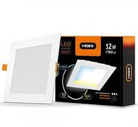 Led светильник с регулировкой цветности Videx 12w 3000-6200K 220V sc3-12