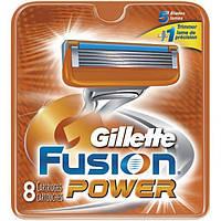 Сменные кассеты для бритья 8 шт (Original) - Gillette Fusion Power, фото 1