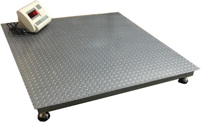 Платформенные напольные весы ВПД-1212-Л 1т