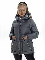 Куртка- пуховик женский Irvik ZP179 оливковый