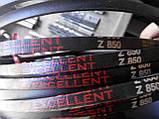 Приводной клиновой ремень Z(0)-850 Excellent, 850мм, фото 5
