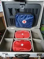 Чемодан специальный медицинский большой 460 х 330 х 150 со вкладышами и ампульницей