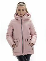 Куртка- пуховик женский Irvik ZP173 розовый
