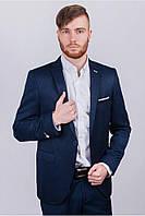 Пиджак мужской классический №AG7-0002963 Темно-синий