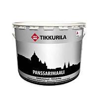 Краска по металлу Тиккурила Пансаримали — Алкидная краска для оцинковки —  Tikkurila Panssarimaali