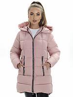 Пальто- пуховик женский Irvik ZP2173 розовый