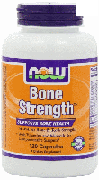 Крепкие кости Now Foods Bone Strength 120 Caps