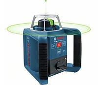Ротационный лазерный нивелир Bosch GRL 300 HVG + LR1+ RC1 (зеленый луч)