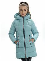 Пальто- пуховик женский Irvik ZP2156 тиффани