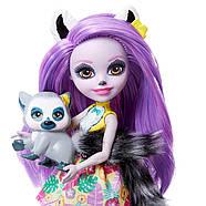 Лялька Энчантималси Лариса Лемур і один Ринглет Mattel Enchantimals Larissa Lemur & Ringlet, фото 6