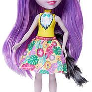 Лялька Энчантималси Лариса Лемур і один Ринглет Mattel Enchantimals Larissa Lemur & Ringlet, фото 7