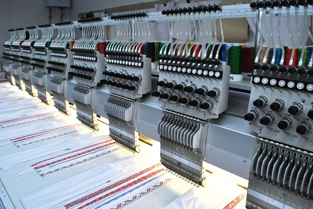 Производство вышиванок