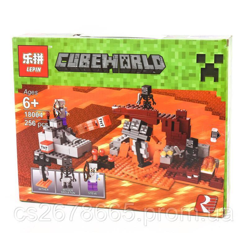 "Конструктор в дисплее "" LEPIN ""Minecraft"" TB18004"