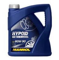 Трансмиссионное масло минеральное Mannol HYPOID GETRIEBEOEL 80W90 4л