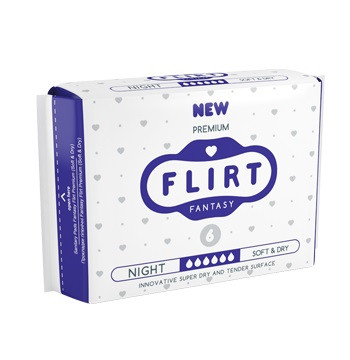Гигиенические прокладки Premium Line, night, soft&dry 6 шт.