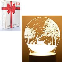 Аксессуары для праздника MK 4260   17,5см, свет 3D, 1вид, от сети, в коробке, 15-20-5см