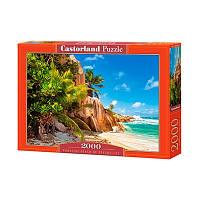 Пазлы Castorland 2000 эл Берег моря С-200665