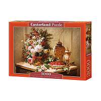 Пазлы Castorland 3000 эл Букет на столе C-300488