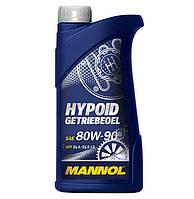 Трансмиссионное масло минеральное Mannol HYPOID GETRIEBEOEL 80W90 1л