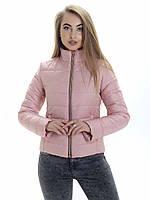 Женская демисезонная куртка Irvik ZS153 розовая