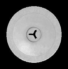 POK-040-ALZN - Круглая шайба, 40 мм