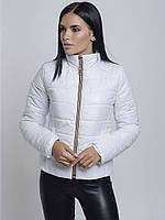 Женская демисезонная куртка Irvik ZS154 белая