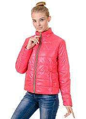 Куртка женская весна ZS158 малина
