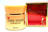 Корейский анивозрастной крем для лица на основе корня женьшеня Deoproce Whee Hyang Anti-Wrinkle Cream 50g
