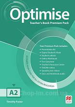 Optimise A2 Teacher's Book Premium Pack / Книга для учителя