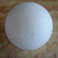 Пенопластовая заготовка Шар 1шт d(см)=15см