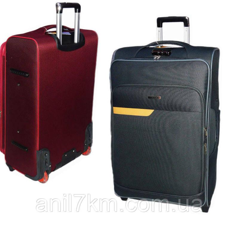 Малый  чемодан на силиконовых колёсах Travel World