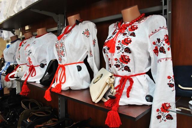 Вышитые украинские сорочик
