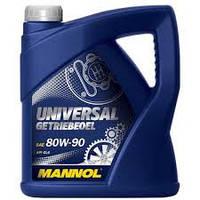 Трансмиссионное масло минеральное Mannol UNIVERSAL GETRIEBEOEL 80W90 4л.