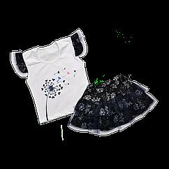 Комплект Dexters Футболка и юбка 128 см d10303, КОД: 1061260