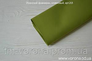 Иранский фоамиран, цвета в описании