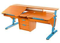 Детский стол «Эргономик для двоих детей» Pondi