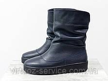 Ботинки женские Gino Figini М-211-03 из натуральной кожи флотар, фото 3