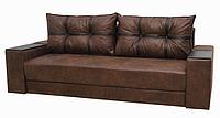 Диван Garnitur.plus Магнат темно-коричневый 245 см DP-325, КОД: 181474