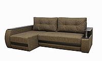 Угловой диван Garnitur.plus Граф оливковый 245 см DP-233, КОД: 181495