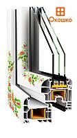 Энергосберегающие окна металлопластиковые ОКОШКО, фото 1