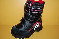 Детская зимняя обувь Термообувь B&G Украина 215 Для мальчиков Черный размер 28