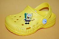Детские Кроксы Vitaliya Украина 004004 Желтый размеры 20_36, фото 1