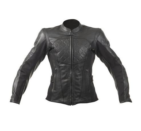 Мотокуртка кожаная женская RST Madison II (Black)