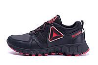 Мужские кожаные кроссовки  Reebok Tracking (реплика)