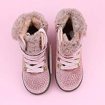 Ботинки демисезонные на девочку розовые тм Bi&Ki размер 29, фото 3